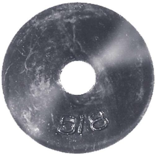 Danco 13//16 In Black Neoprene Flat Faucet Washer 5 pk