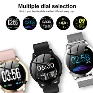 Women-Fashion-Bluetooth-Smart-Watch-Waterproof-Heart-Rate-for-iOS-Android-CF-18