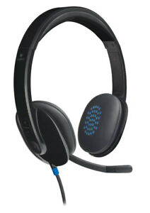 Image is loading New-Logitech-981-000482-USB-Headset-H540 0ab2359dee95b