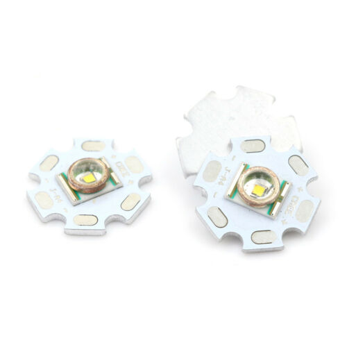 XR-E Q5 Emitter High Power LED 228lm mit 20mm Sternfuß  BC