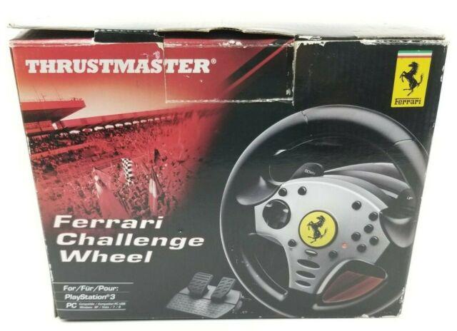 Ps3 Wheel 4160525 Thrustmaster Ferrari Challenge