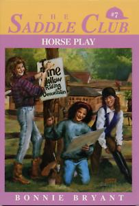 Saddle-Club-R-Horse-Play-No-7-by-Bonnie-Bryant-1989-Paperback
