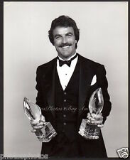 TOM SELLECK w. People's Choice Awards VINTAGE ORIG PHOTO handsome actor