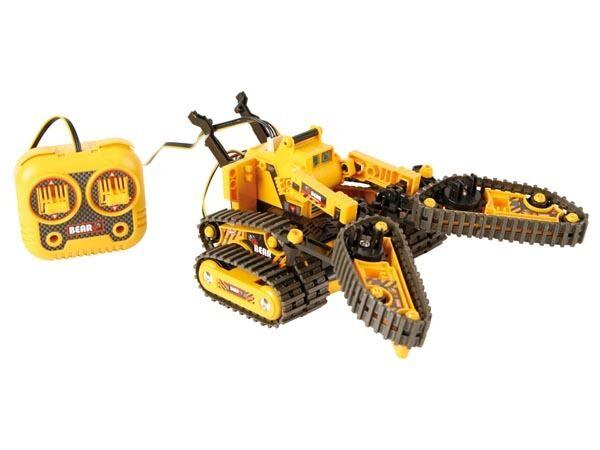 Robot Kit vehículo 3 en 1 Brazos PINZAS + send to distancia
