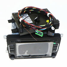 9w2 Bluetooth Module Original RCD510 AUX USB Code For VW Tiguan Golf Polo Passat