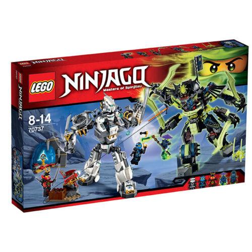 LEGO ® 70737 Ninjago ® TITANIO Mech Battle TITANIO ROBOT VS MECC-Enstein Nuovo//Scatola Originale