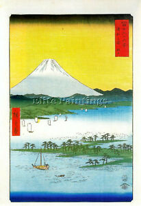 HIROSHIGE-ANDO-BJKH-ARTIST-PAINTING-REPRODUCTION-HANDMADE-OIL-CANVAS-REPRO-DECO