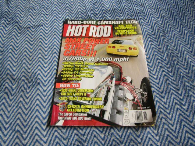 Hot Rod Magazine November 1997 Buick Grand National 65