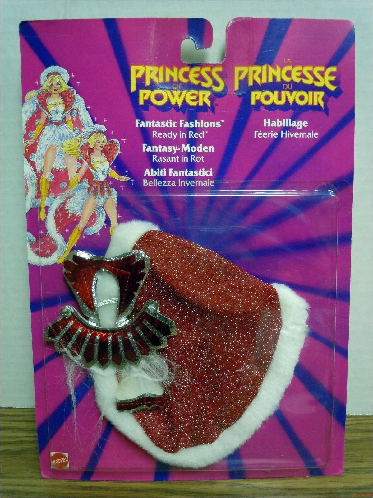 Bereit in roten fantastische mode prinzessin macht sie zu neuen shera 1986 moc