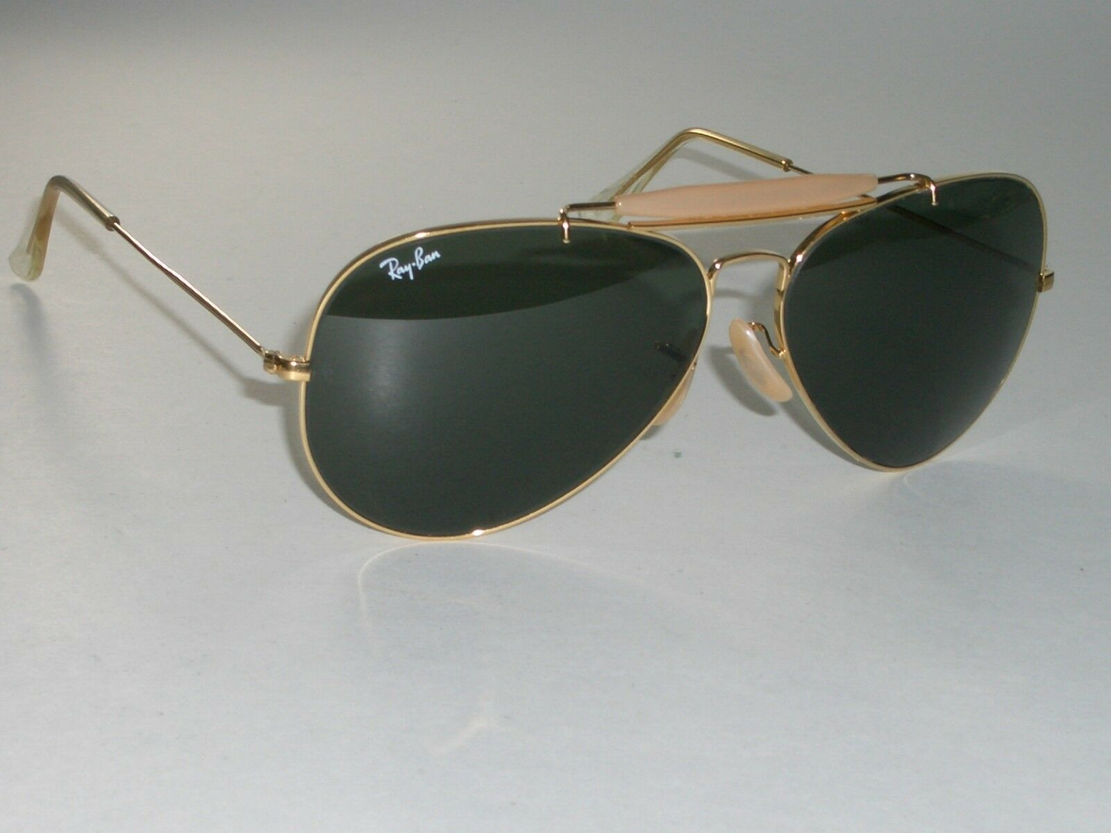 63a50e41570f 62 14mm Vintage Bausch   Lomb Ray Ban GP G15 Outdoorsman II Aviator  Sunglasses for sale online