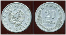 ALBANIE  20 qindarka  1964