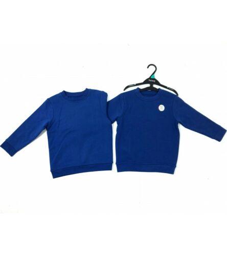 Nueva Sudadera Unisex Escuela Pack 2 Azul Real Ex Store 4,5,6,7,8,9,10,11,12,13