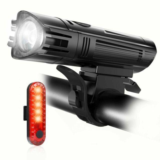 Luces de LED para bicicletas accesorios bicicletas USB recargableimpermeable