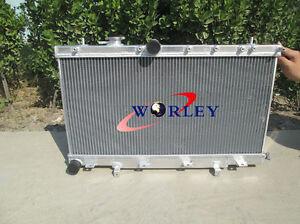 50mm Aluminum Radiator For 2002-2007 Subaru Impreza Wrx STI GDB GDA 03 04 05 MT