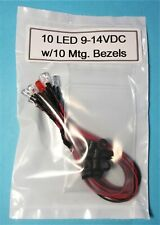 Set Of 8 Red Led Prewired 2 Red Blinking Leds Great For Car Truck Security