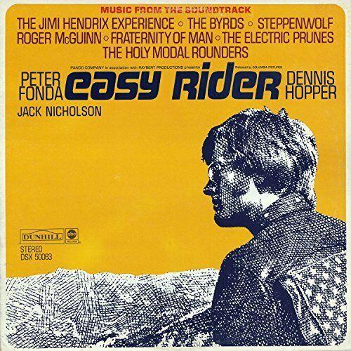`Various Artists - Easy Rider (Soundtrack) [LP] (Yellow (US IMPORT) VINYL LP NEW
