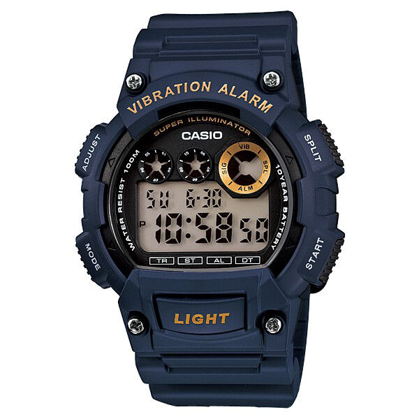 New CASIO W-735H-2A Resin Band with Warranty