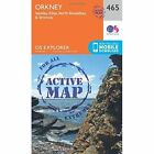 Orkney - Sanday, Eday, North Ronaldsay and Stronsay by Ordnance Survey (Sheet map, folded, 2015)