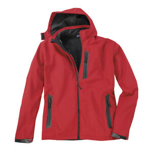 di softshell Dave oversize rossa Giacca qwx0RUYXXT