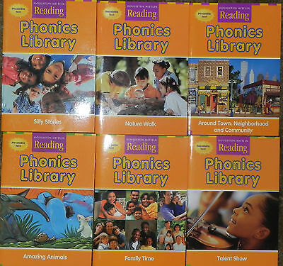Phonics Library Reading 6 Books 2nd Grade Level 2 Homeschool Houghton Mifflin 9780618431069 EBay