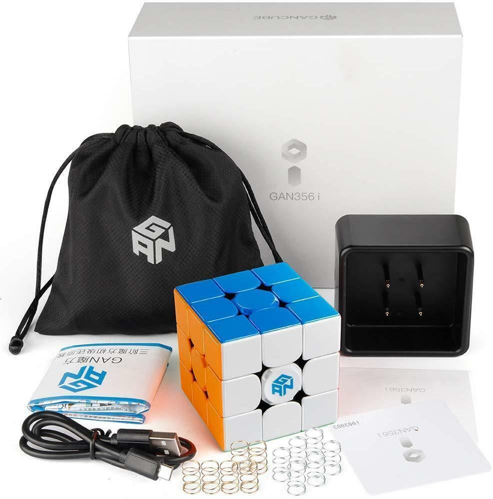 GAN 356 i Smart Cube 3x3x3 Stickerless 356i Training Speed Cube Ship from USA