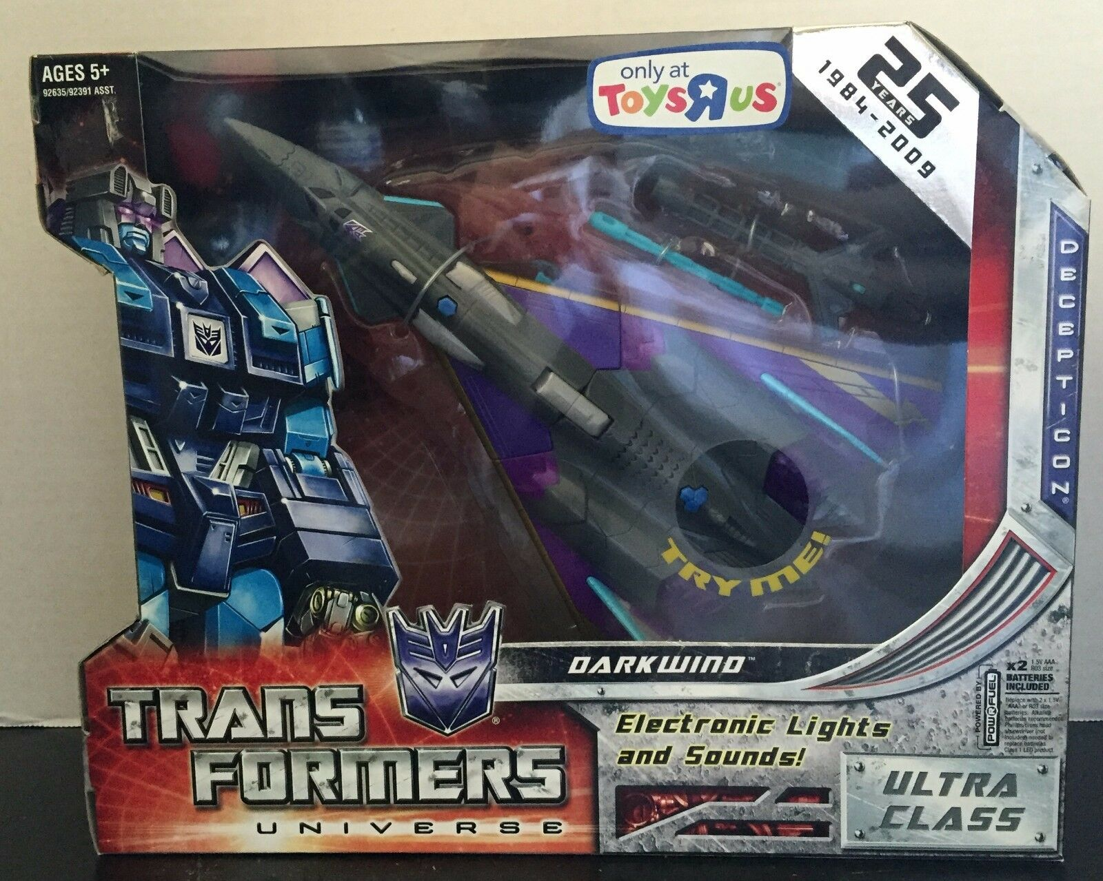 NEW - Transformers Universe Darkwind - 25th Anniversary - Toysrus Exclusive