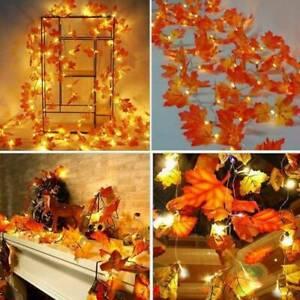 LED-String-Lighted-Fall-Autumn-Pumpkin-Maple-Leaves-Garland-Halloween-Xmas-Decor