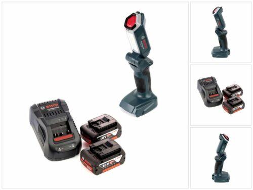 Bosch Professional GLI 18V-300 Akku Lampe 2x GBA 18 V 5,0 Ah Akku GAL Lader