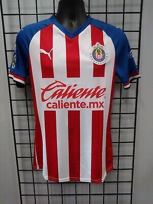 puma 2019 20 chivas authentic home jersey 704365 01 size mens medium 193524491062 ebay ebay