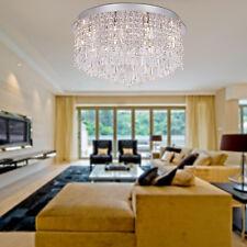 Cristallo moderna incasso con 15 luci in rotondo G4 lampadario luce  soffitto A