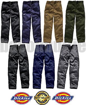 Dickies WD884 Redhawk Super Action Cargo Work Wear Trouser Khaki W:32-L:29 Petit