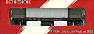 """HO Red Caboose RTR 53' 6"""" Flat Car w/Wood Deck Southern Pacific/SP 561942 NIB"""
