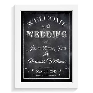 Personalised-wedding-sign-WELCOME-TO-OUR-WEDDING-retro-vintage-aisle-sign-keepsa