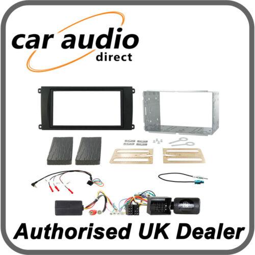 Connects 2 ctkpo 03 Kit de montaje de doble DIN Porsche Cayenne 2007-2010 amplificador de fibra