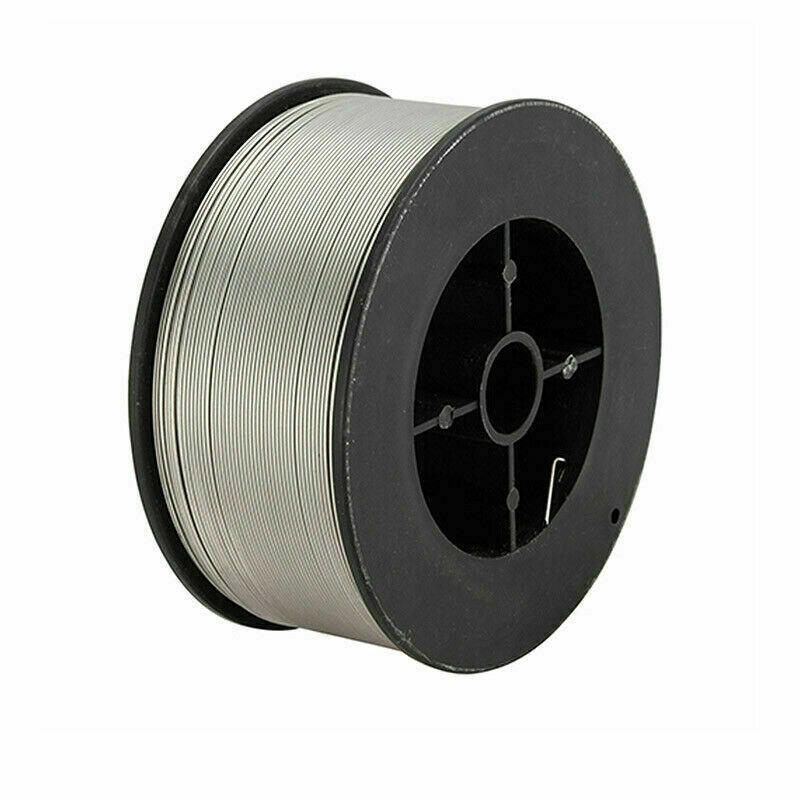"0.8mm//0.031/"" 304 Steel Gasless Flux-Cored Mig Welding Wire 0.45kg Roll No Gass"