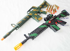 2X Toy Machine Guns Military AR-15 Dart Rifle & M-16 Toy Rifle Set SAFE