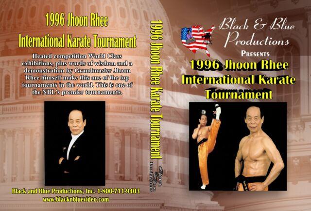1996 Jhoon Rhee International Karate Tournament 2 hours long