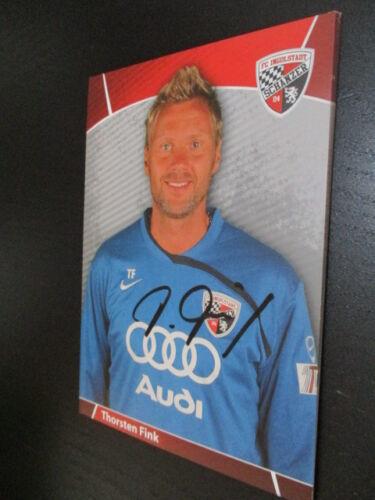 62122 Thorsten Fink EX FC Bayern München original signierte Autogrammkarte