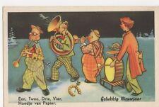 Holland, Een, Twee, Drrie, Vier, Hoedje van Papier Postcard, B272