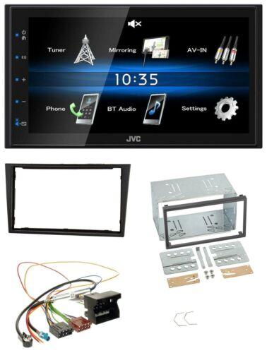 JVC 2din Bluetooth mp3 aux USB autoradio para Opel Corsa D stealth negro
