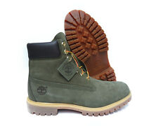 [TB0A14A6] TIMBERLAND AF 6 INCH PREM GREEN MENS BOOT SIZE 8
