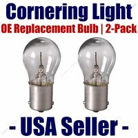Cornering Light Bulb Oe Replacement 2pk - Fits Listed Chevrolet Vehicles - 1295