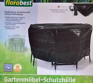 florabest schutzh lle gartenm bel abdeckplane wasserabweisend uv best ndig ebay. Black Bedroom Furniture Sets. Home Design Ideas