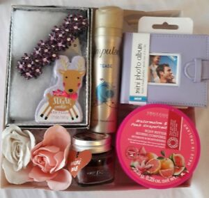 Image Is Loading Ladies Teen Purple Lilac Pamper Gift Basket Girl