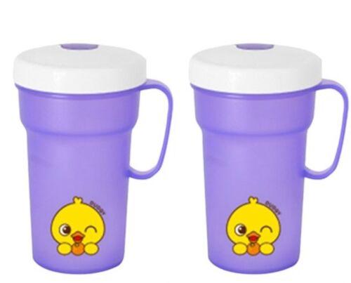 Edison No-Spill Kids Straw Cup 300ml BPA Free Toddler Baby Drinking 1+1 Korea