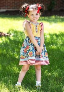 New Matilda Jane Around The Globe Dress Size 10 Make