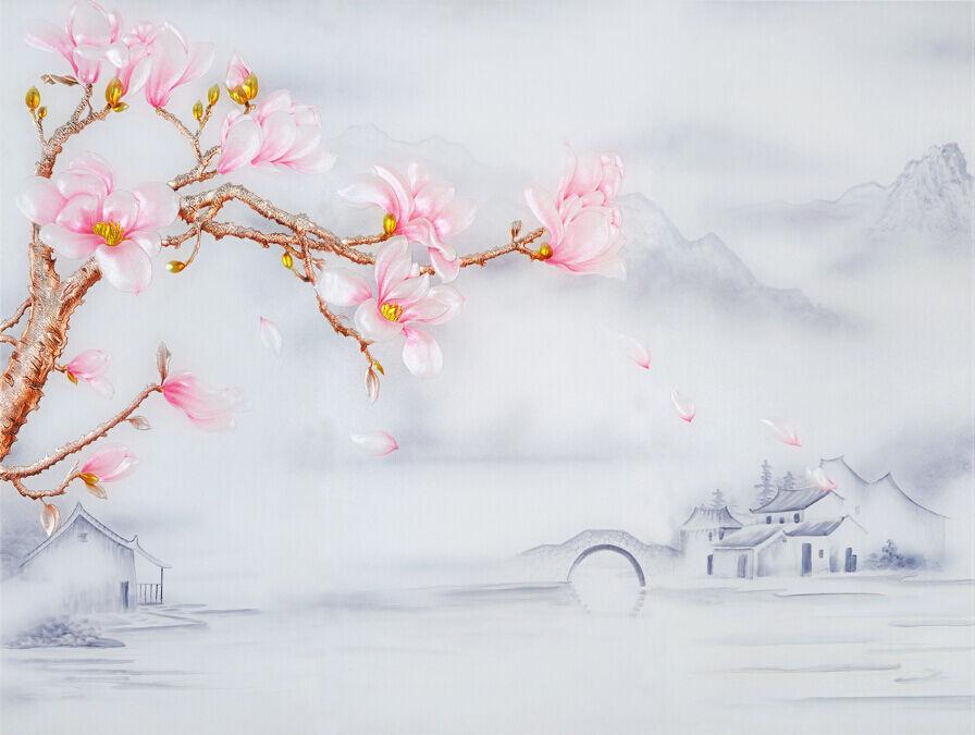 3D Elegant Scenery 618 WallPaper Murals Wall Print Decal Wall Deco AJ WALLPAPER