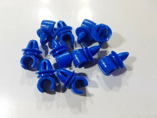 """10 x FORD GRANADA MK1 Blu Tubo Del Carburante Clip SPEEDO Cavo TELAIO BENZINA 8 mm 5//16/"""""""