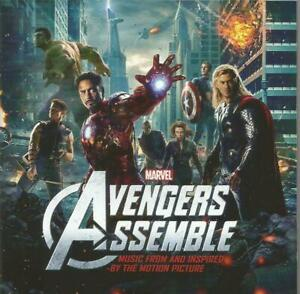 Various-Artists-Music-From-Avengers-Assemble-Soundtrack-CD