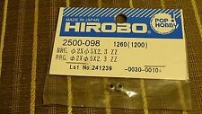HIROBO 2500-098 BALL BEARING 2 X 5 X 2.3 ZZ #2500098 HELICOPTER PARTS